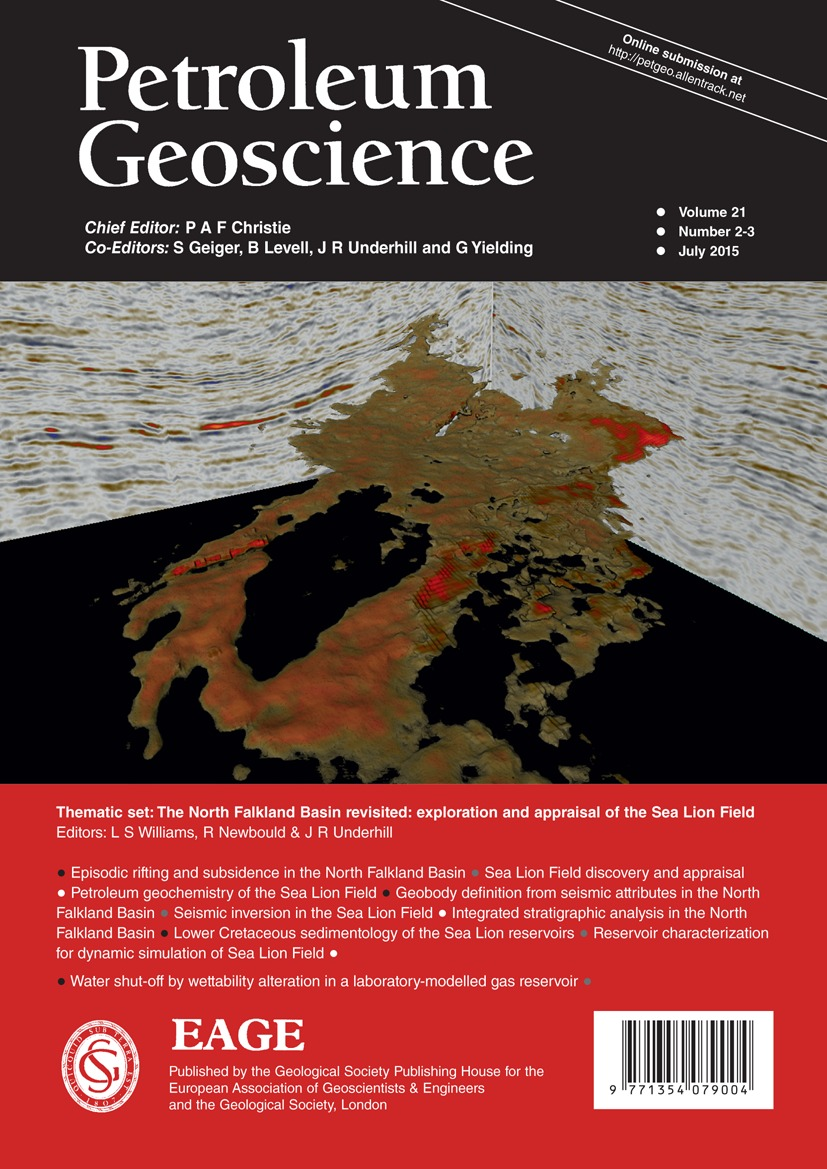 the use of seismic attributes for fan and reservoir definition in